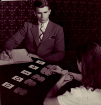 JB Rhine with Zener cards